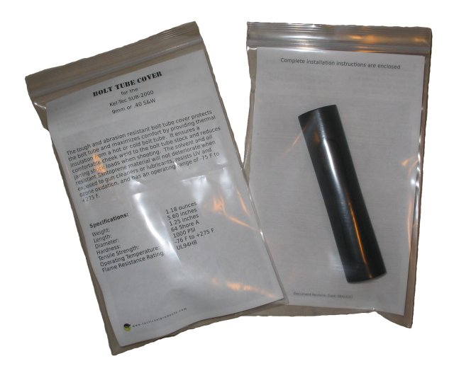 SUB-2000 Bolt Tube Cover - Packaging
